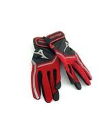 Mizuno Finch Batting Gloves Womens S Size Black Red #637G - $12.65