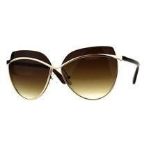 Womens Sunglasses Unique Overlap Lens Designer Style Shades UV 400 - $11.95
