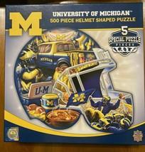 University of Michigan 500 Piece Helmet Shaped Puzzle  - $18.76