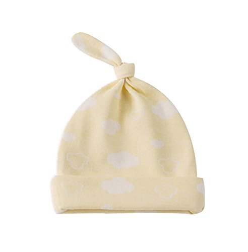 Pure Cotton Comfortable Ventilate Lovely Children Cap/Kid Hat(Yellow)