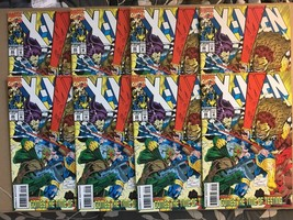 X-Men #23 Quantity 8 Comic Book Lot VF/NM Condition 1993 Marvel W/ Cards - $7.19