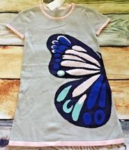 Gymboree 5 7 10 Dress Butterfly Garden Sweater Dress Outlet NWT Blue Pink Gray - $15.99