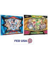 Ash-Greninja EX Box + Flygon EX Collection Box POKEMON TCG Sealed Booste... - $54.99