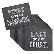 HDCo Grade Signs for Pictures of First Day & Last Day of School Props, 8... - $27.95
