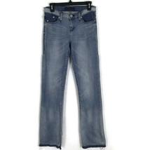 Rock & Republic Womens Jeans Size 4M Kasandra Light Wash Raw Hem Stretch... - $48.26