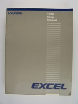 Hyundai Excel 1988 Repair Shop Manual Original Paperback - $19.30