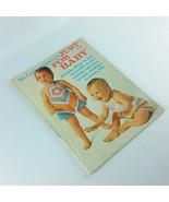 McCalls Makes It Just For Baby 1973 Vintage Craft Magazine Crochet Knit Sew - $39.99