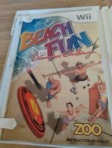 Nintendo Wii Beach Fun: Summer Challenge ~ COMPLETE image 2