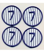 Mickey Mantle No. 7 Lot of 4 Embroidered Patches - Shipped from USA - $12.82