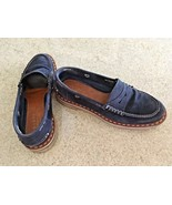 """Men's """"Endless By Mazza 1885"""" Navy Suede Casual Loafers With Rubber Sole... - $163.63"""