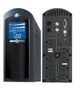 CyberPower CP1500AVRLCD Intelligent LCD 1500VA UPS Power Supply - $198.58