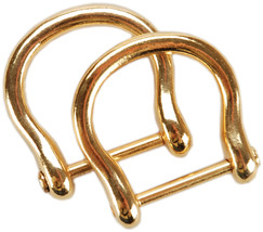 Sunbelt Purse Handle Hooks 2/Pkg-Gold - Round - $5.55