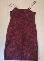 Aeropostale Womens Dress Paisley Red Size 2 - $10.00