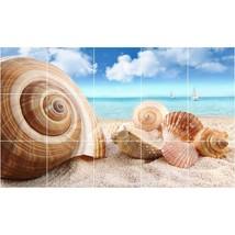 Beach Photo Tile Murals BZ30019. Kitchen Backsplash Bathroom Shower Wall Murals - $150.00+