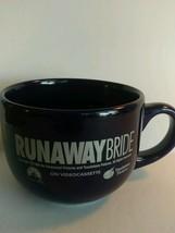 Vintage Movie Super Video Coffee Mug Runaway Bride 1999 Paramount Touchs... - $14.85