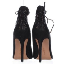 NINE WEST EBBA LACE-UP PUMPS BLACK 11M-Original Retail $109 - $53.22