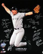 New York Yankees signed 16x20 Photo 1998 WS Champions Scott Brosius MVP-... - $158.95