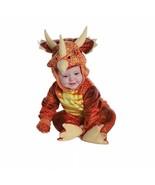 Underwraps Triceratops Rust Dinosaur Infant Toddler Halloween Costume 26031 - $28.99+