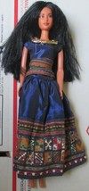 BARBIE Doll PRINCESS of The INCA Dolls of World, wearing dress & necklace - $39.99
