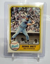 1981 Fleer #28 George Brett  - $1.00