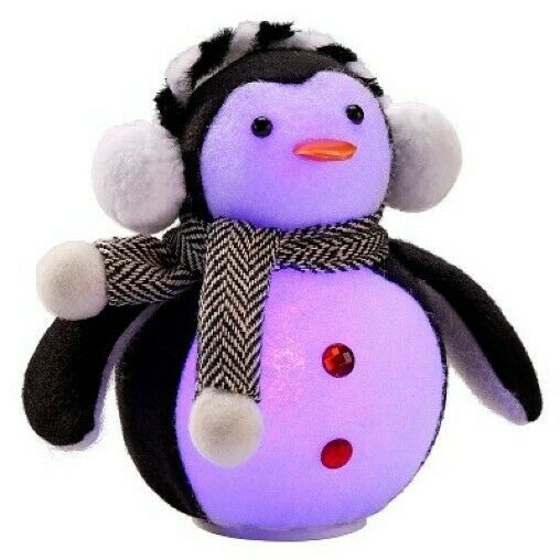 Philips LED Penguin Figurine Battery Operated Color Changing Christmas Decoratio