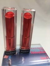 (2) New 40 Almay Smart Shade Butter Kiss Lipstick Red - Light - $7.09