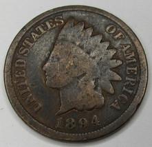 1894 Indian Head Cent - Good - $6.99