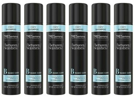 6 Pack of TRESemmé DRY SHAMPOO For Brittle Dry Hair 4.3oz each No Residue/Water! - $35.00
