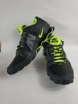 Nike 616272-36 Reax Training Sneakers Shoes Mens 14 Black Neon Green  - $34.65