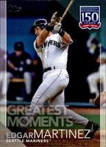 Edgar Martinez 2019 Topps Series 2 Greatest Moments Card #GM-11 - $0.99