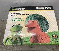Disney Muppets Kermit The Frog Chia Pet Decorative Planter Easy To Grow - $14.84
