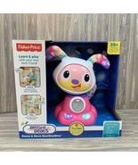Fisher Price Bright Beats Dance & Move BeatBowBow 25+ Songs Tunes Phrases  - $24.99