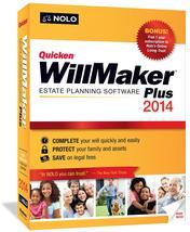 Brand New! Quicken Willmaker Plus 2014 Estate Planning Software - $9.98