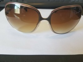 NEW OLIVER PEOPLES SUNGLASSES VIANCA BG/COR GOLD / BROWN GRADIENT 61-17-125 - $59.40