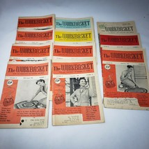 Lot of 12 Vintage Workbasket Home and Needlecraft Magazine 1952-1956 - $14.95
