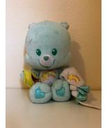 "Plush Stuffed Care Bears Wish Bear 11"" Play Along 2004 - $28.22"