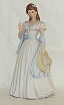 Vintage Sarah Jane Figurine Home Interiors 1998 Masterpiece Porcelain 11... - $34.65