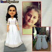Turui Figurines ooak polymer clay statue sculpture doll custom made uniq... - $78.00