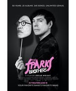 The Sparks Brothers Poster Ron and Russell Mael Movie Art Film Print 24x... - £7.89 GBP+