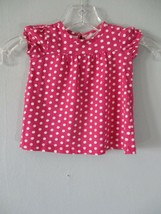 Children's Place Baby Girl's Size 0-3 Months 100% Cotton Pink Polka Dott... - $20.00