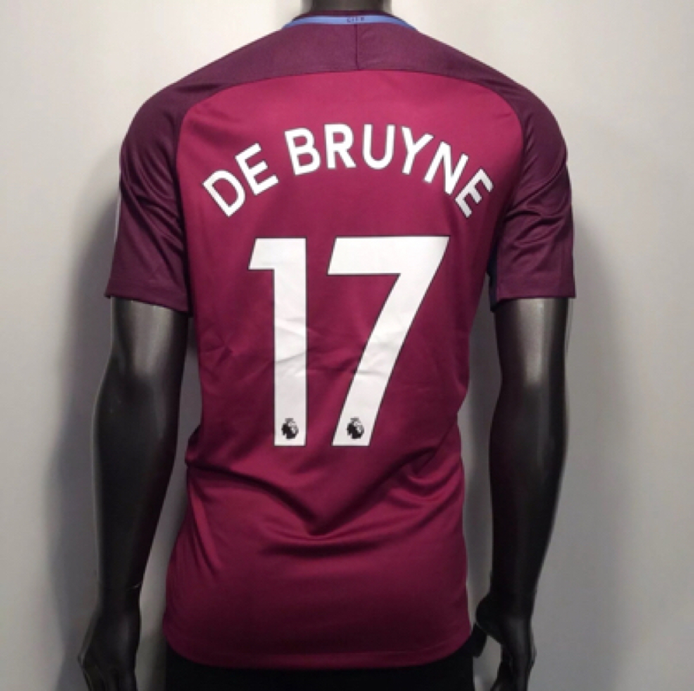 084ae81af4f 2017-18 Manchester City XL Nike Kevin De and 50 similar items