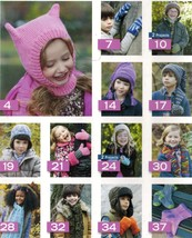 15 Child Toddler Knit Crochet Winter Helmet Earflap Scarf Mitts Hat Cap ... - $12.99