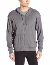 NWT Mens Alo Yoga Hero Hoodie Sweatshirt in Asphalt Performance Blend sz... - $28.96