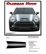 CLUBMAN Dual Hood Stripes Vinyl Graphic Decal Kit for 2016 2017 2018 Min... - $112.49