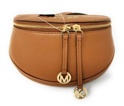 Michael Kors Bedford Legacy Medium Convertible Leather Belt Bag Crossbod... - $117.59