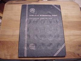 Vintage 1959  - 70 -s WHITMAN MEMORIAL CENT ALBUM ..nos - $6.76