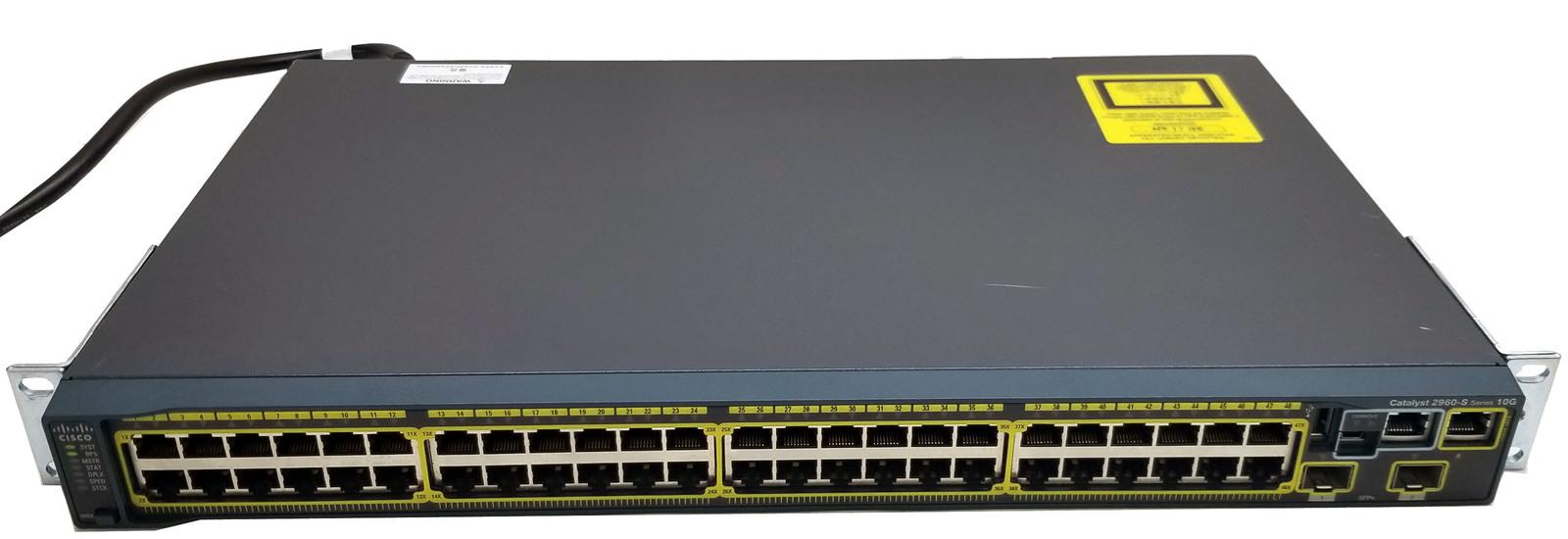 Cisco cata 2960 s 001