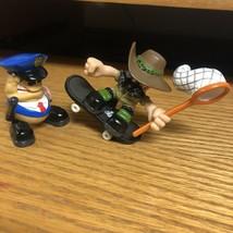 2 Tech Deck Dudes figures and Magnetic Skateboard Fingerboard Cop Jungle Skate - $19.79