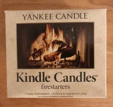 Yankee Candle Brand New Box Of 12 Kindle Candle Fire Starters - $24.74