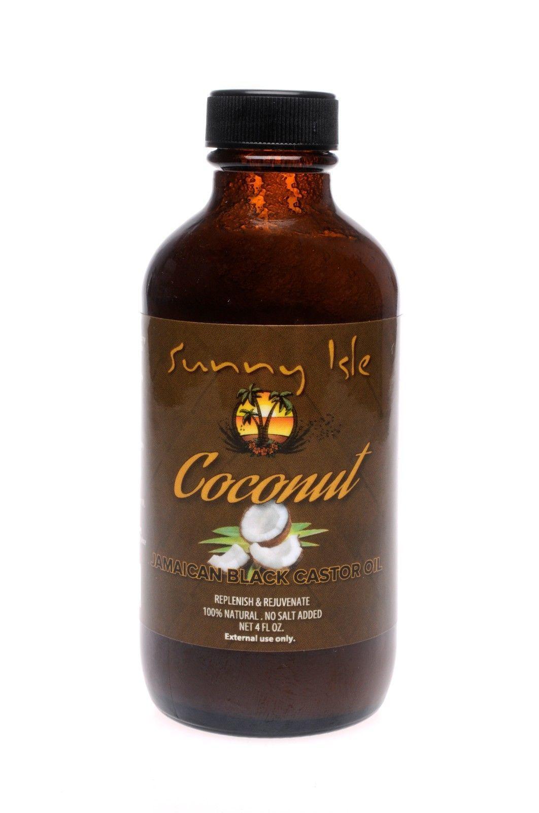 sunny isle coconut jamaican black castor oil replenish and rejuvenate 4oz serum oils. Black Bedroom Furniture Sets. Home Design Ideas